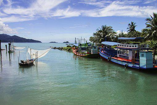 Thailand, Koh Chang, Sea, Vacation, Journey, Water