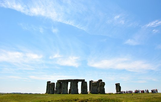 Stonehenge, England, Monument, Britain, Uk, Rock