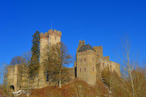Kasselburg, Castle, Knight's Castle, Tower, Viewpoint