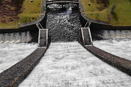 Claerwen, Elan Valley, 57 Metres High, Dam, Wales
