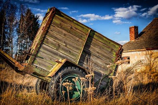 Lost Places, Dare, Cart, Agriculture, Lapsed, Farm, Lpg