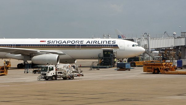 Singapore Airlines, Airport, Aircraft Maintenance