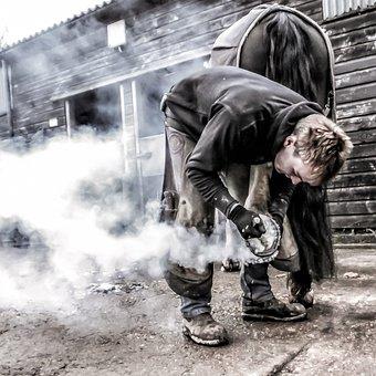 Fair, Blacksmith, Shoe, Iron, Craftsman, Forge, Anvil