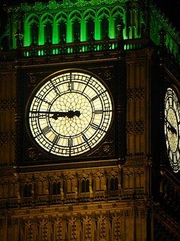 Big Ben Details, England, London, Bell Tower, Bell