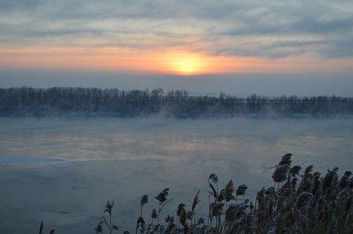 Winter, Blue, Nature, Frost, Snow, White, Sky, Siberia