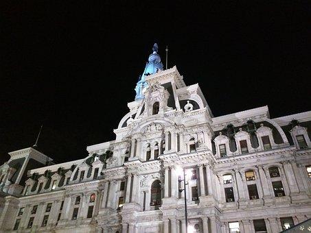 Philadelphia, City Center, City, Center, Travel, Urban