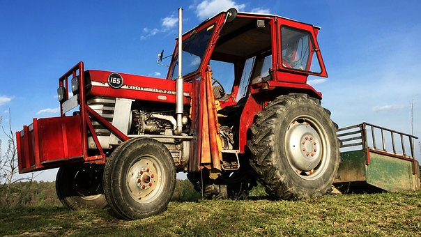Land, Tractor, Field, Tractors, Commercial Vehicle