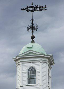 Weather Vane, Copula, Sussex County Courthouse