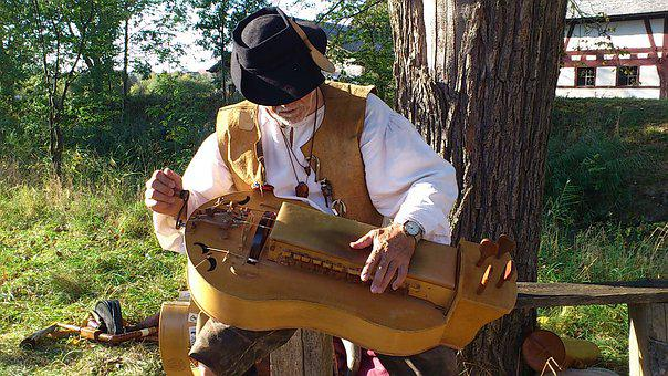 Medieval Days, Musician, Man, Music, Costume