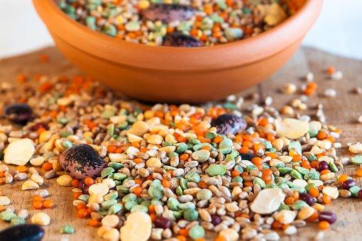 Grain, Cereal Bowl, Bean, Beans, Food, Healthy, Organic