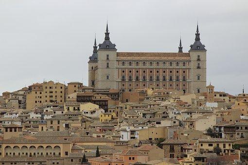 Alcazar, Toledo, Historic Building, Castilla-la-mancha