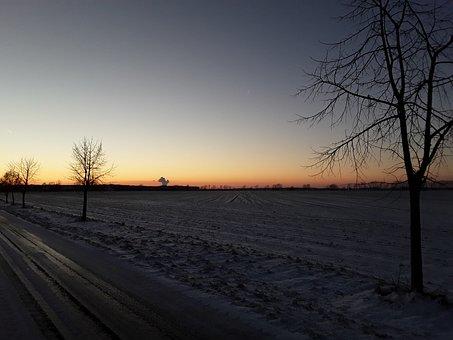 Homepage, Setting Sun, Sky, Nature, Abendstimmung