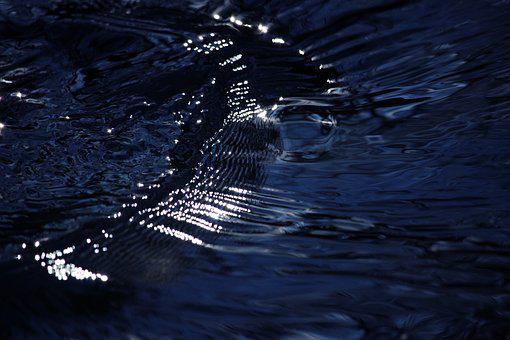Flowing, Water, Blue, Flow, Nature, Liquid, Wet, Motion
