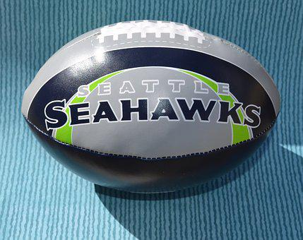 Seattle, Seahawks, Seahawk, Logo, Football, Background