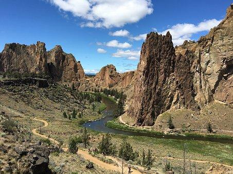 Smith Rock Oregon, Mountain, Adventure, Outdoors