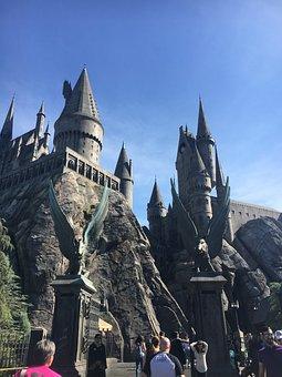 Harry Potter, Castle, Wizarding, Universal, Harry, Park