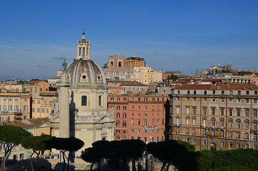 Rome, View Of Rome, Places Of Interest, Sights Of Rome