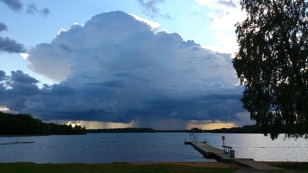Storm, Summer, Rain, Thunder