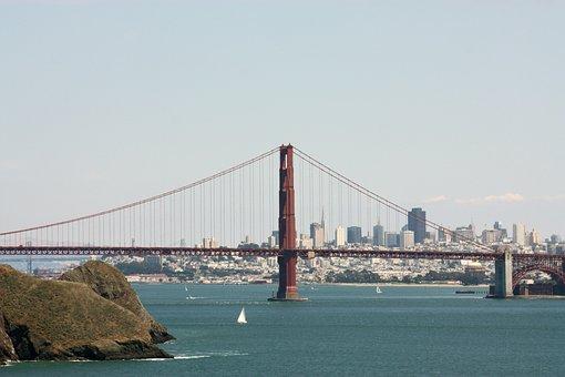 Golden Gate, Bay Area, San Francisco, Bridge