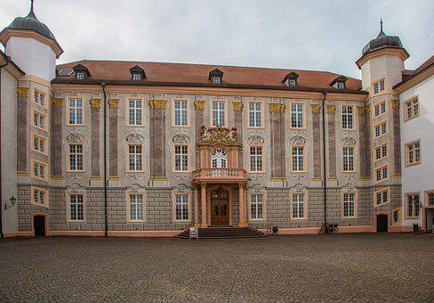 Ettlingen, Castle, Swim, Historically