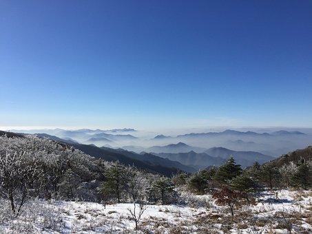 Sobaeksan, Winter Mountain, Mt Sobaeksan Normal