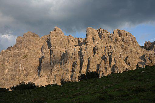 Lynx Heads, Mountains, Rock, Rock Wall, Alpine