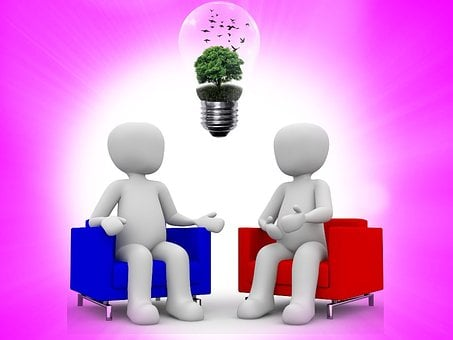 Appointment, Meeting, Lamp, Bulb, Nature, Tree, Green