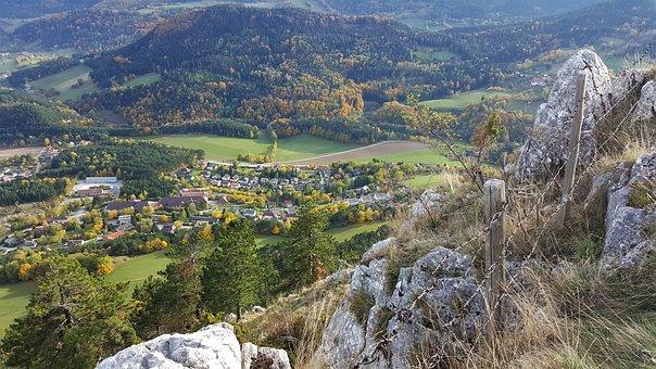 Grünbach Am Schneeberg, Landscape, Barrier, Nature