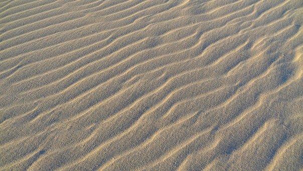 Sand, Desert, Dry, Beach, Fuerteventura, Canary Islands