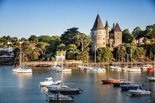 Pornic, Castle, Port
