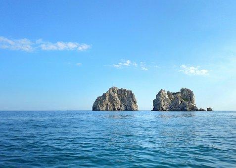 Rocks Adalars, Crimea, Rocks, Black Sea, Vacation