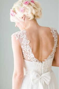 Bride, Dress, Wedding, Romantic, Woman, Wedding Dress