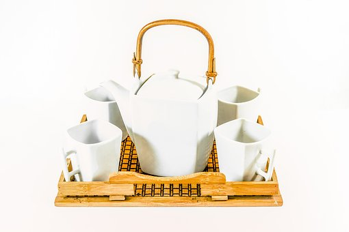 Teeservice, Teapot, Tee, Pot, Teatime, Service, Drink