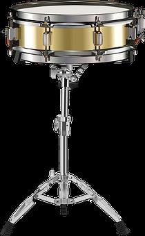 Small Drum, Snare Drum, Drum, Golden