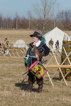 Drummer, History, Costume, Battle Re-enactment