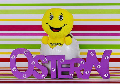 Easter, Happy Easter, Smiley, Cheerful, Funny, Eggshell