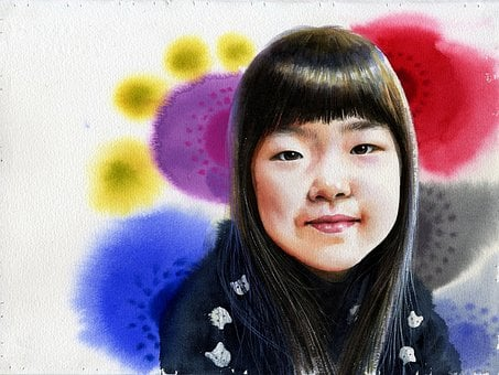 Watercolor, Portrait Watercolor, Art, Figure Paintings