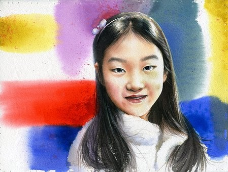 Art, Watercolor, Portrait Watercolor, Fine Art
