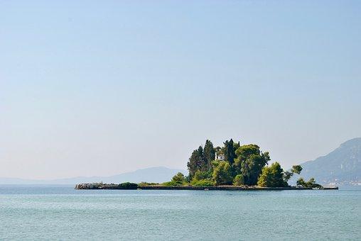 Corfu, Greece, Sea, Sky, Summer, Booked, Island