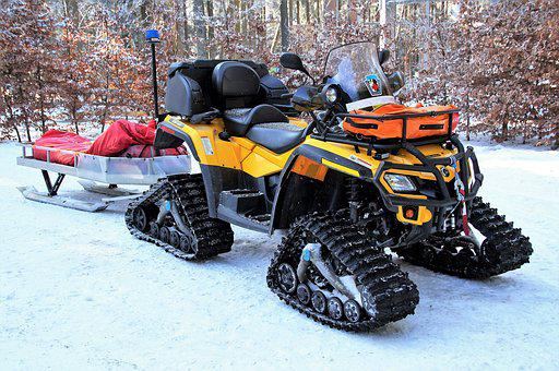 Snowmobile, Mountain Rescue Service, Rescue, Runabout