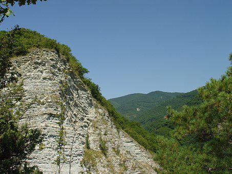 Mountains, Rocks, The Caucasus