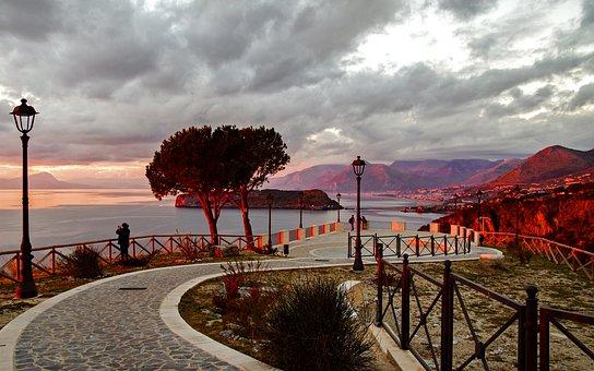 San Nicola Arcella, Praia A Mare, Sunset, Noon