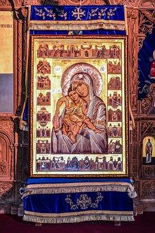 Virgin Mary, Icon, Church, Orthodox, Christianity