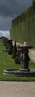 Versailles, Palace, Park, Garden, French, Architecture