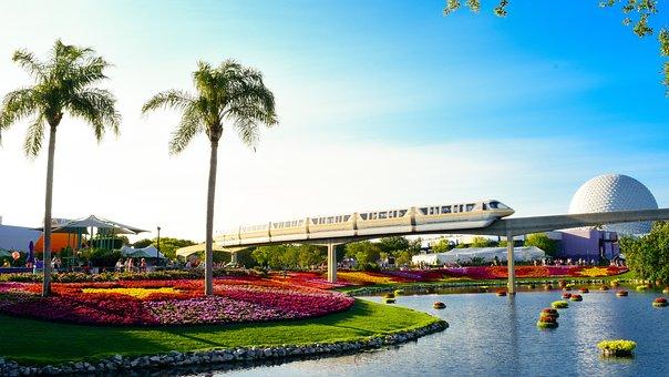 Parks, Orlando, Florida, Fun, Garden, Flowers, Earth