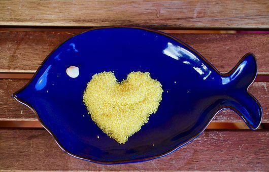 Women's Day, Heart, Love, Mimosa, Yellow, Party