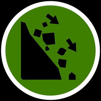 Falling Rocks, Rockfall, Rock Slide, Landslide, Rocks