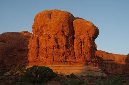 Canyon, Sunset, Scenic, Rock, Usa, Park, Red, Arizona