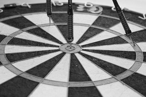 Hobby, Darts, Dart Board, Target, Meeting