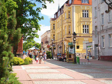 City, The Pedestrian Area, Kartuzy
